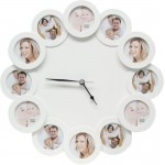 Clock with a picture