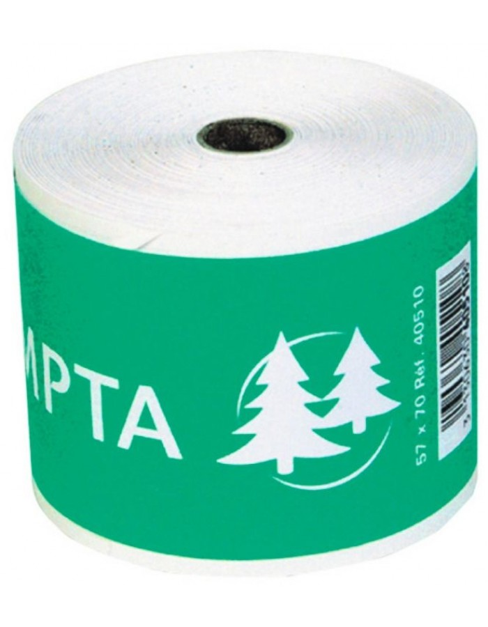 one-ply film for cash registers and desktop computer - 40m