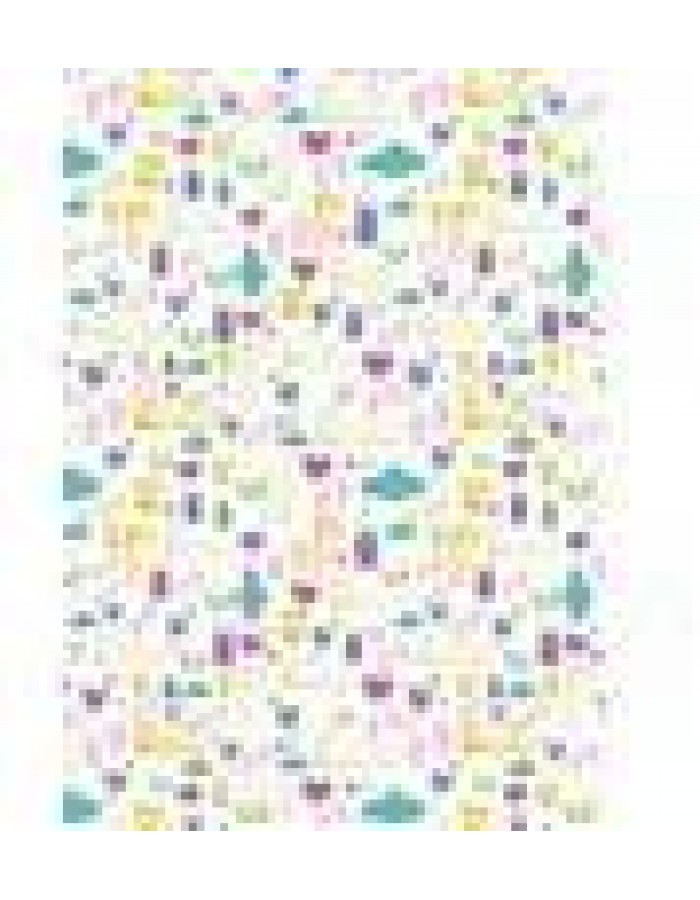 10 sheets of A4 paper ? printed bilateral DIN A4 colourful - Doudou