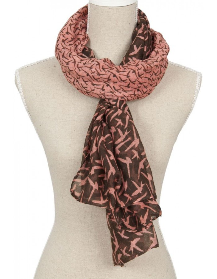 100x180 cm synthetic scarf SJ0381P Clayre Eef
