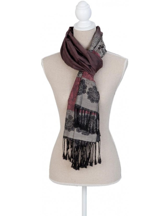 scarf SJ0579CH Clayre Eef in the size 180x70 cm