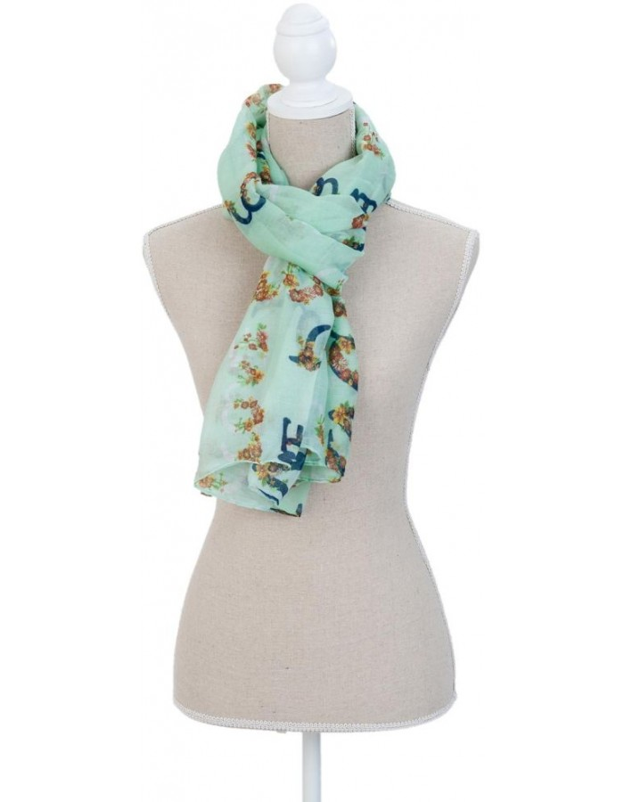 180x90 cm synthetic scarf SJ0594GR Clayre Eef