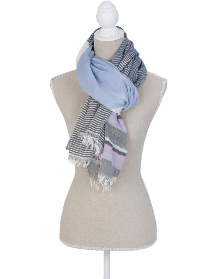 180x90 cm synthetic scarf SJ0674BL Clayre Eef