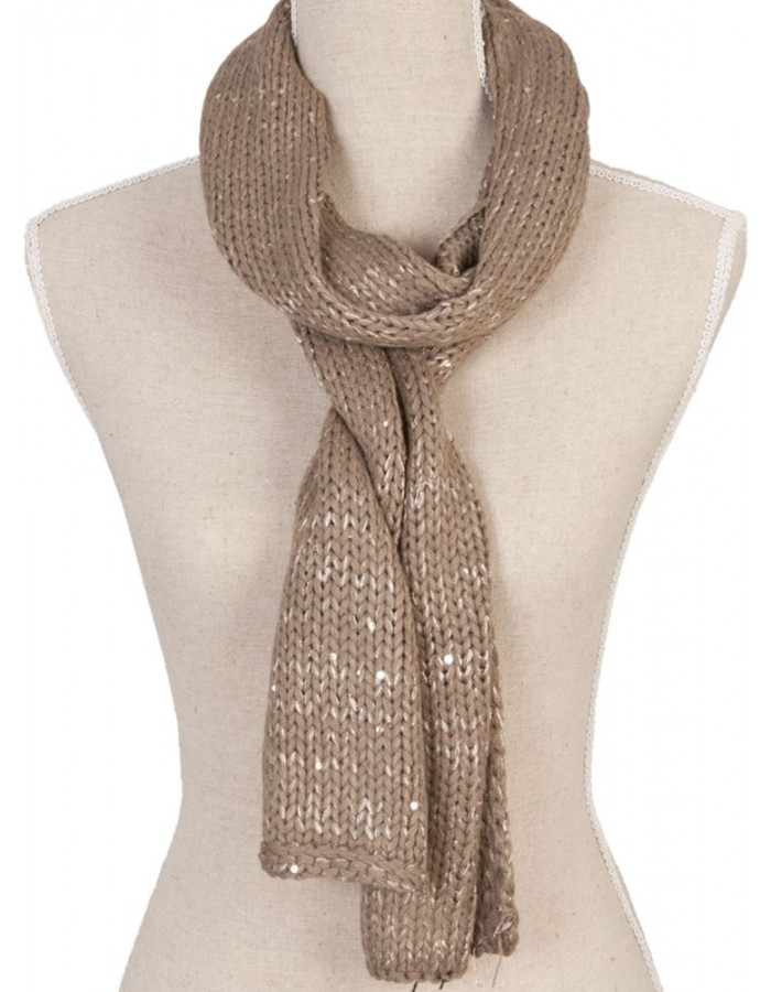 21x170 cm synthetic scarf SJ0278 Clayre Eef