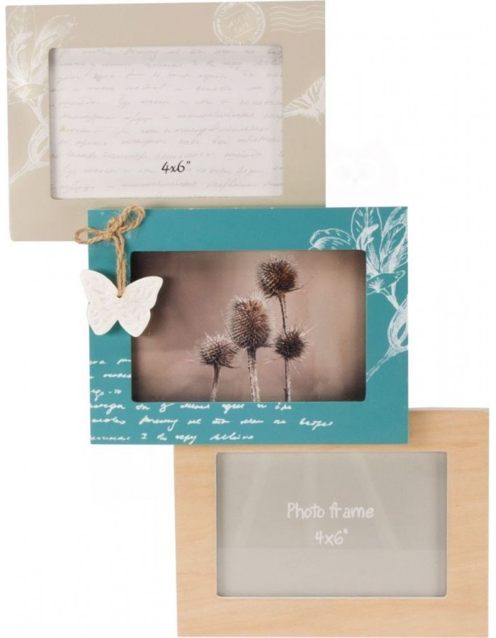 photo gallery frame NATURA 3 picutres 10x15 cm