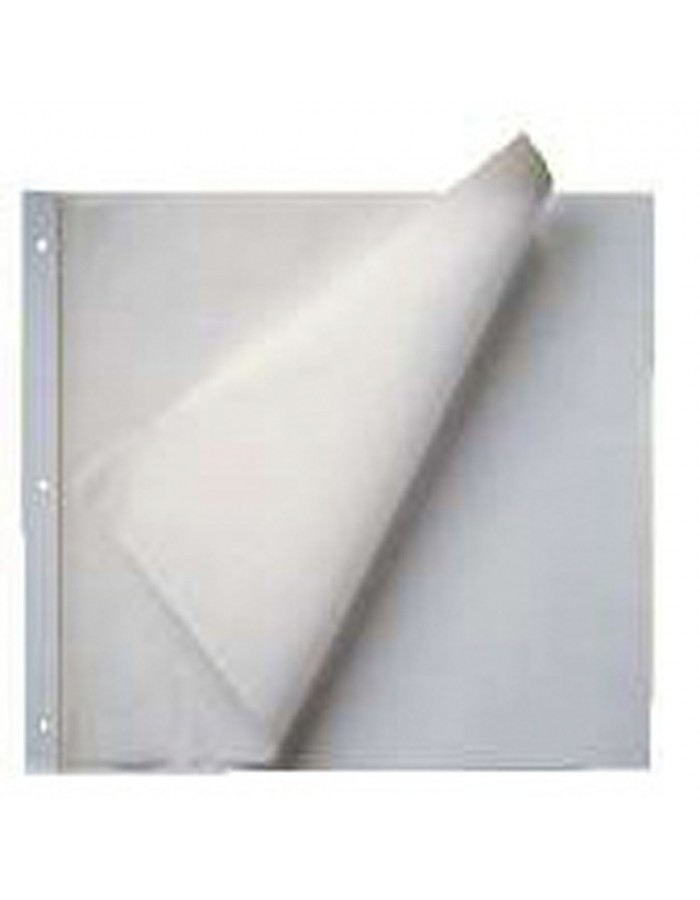 40 white supplementary sheets 34x34 cm for screw post Image