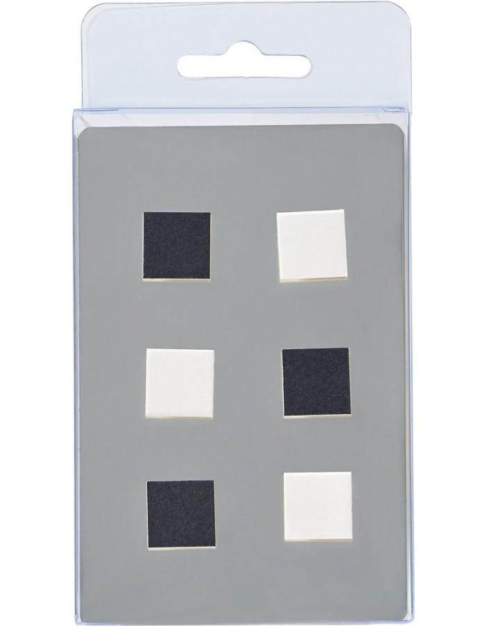6 magnete w rfel schwarz wei walther fotoalben. Black Bedroom Furniture Sets. Home Design Ideas
