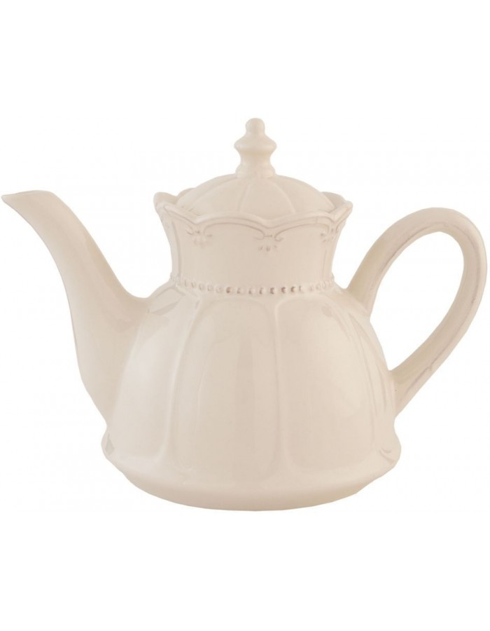 6CE0264teapot natural by Clayre Eef