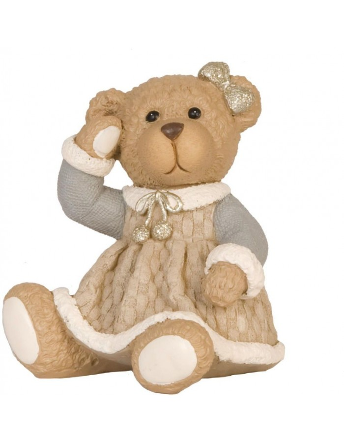 6PR0560 Clayre Eef - decoration TEDDY