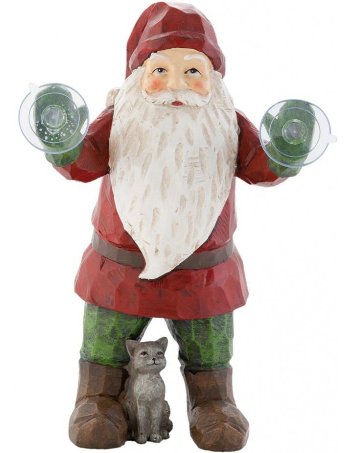 6PR0666 Clayre Eef - window decoration SANTA
