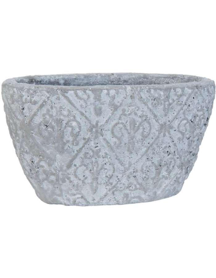 6TE0081 Clayre Eef planter in the size  21x13x11 cm