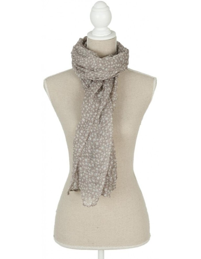 scarf SJ0543G Clayre Eef in the size 70x180 cm
