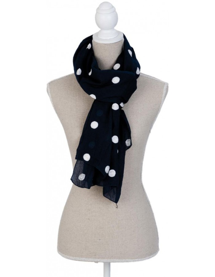 scarf SJ0621BL Clayre Eef in the size 70x180 cm