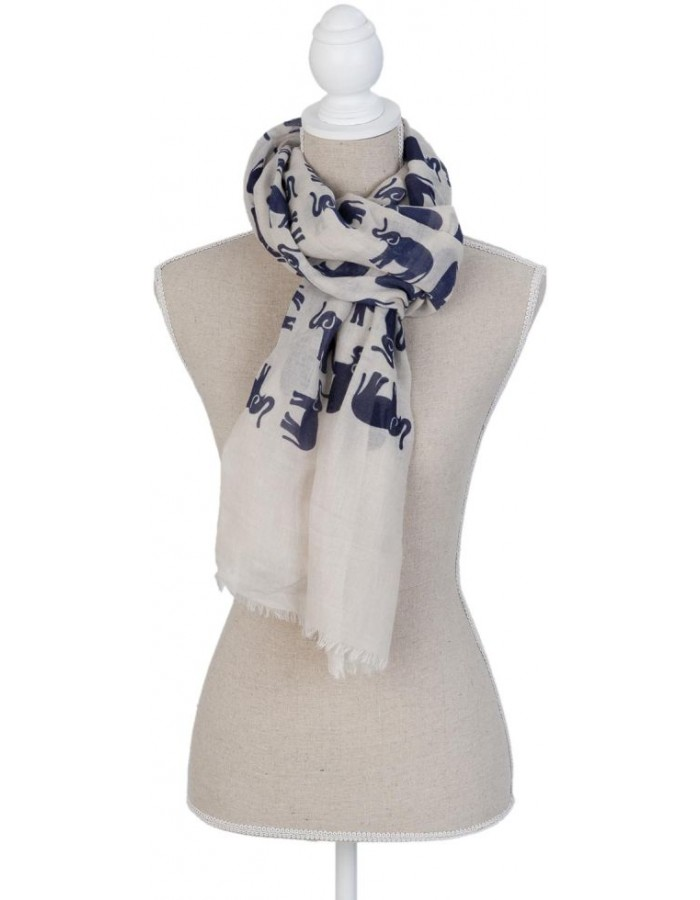 scarf SJ0654N Clayre Eef in the size 70x180 cm