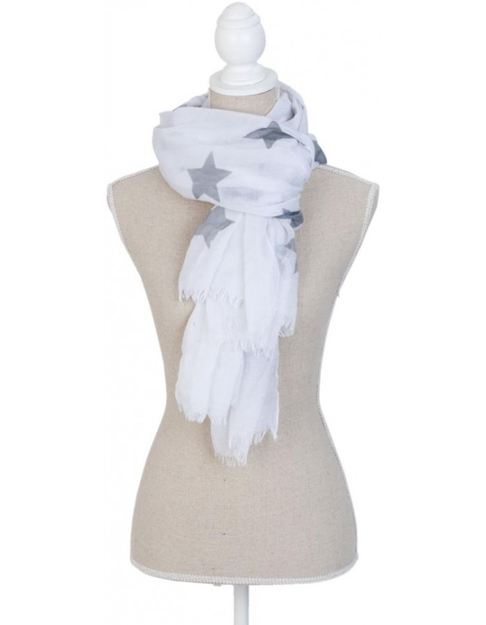 scarf SJ0659W Clayre Eef in the size 85x180 cm