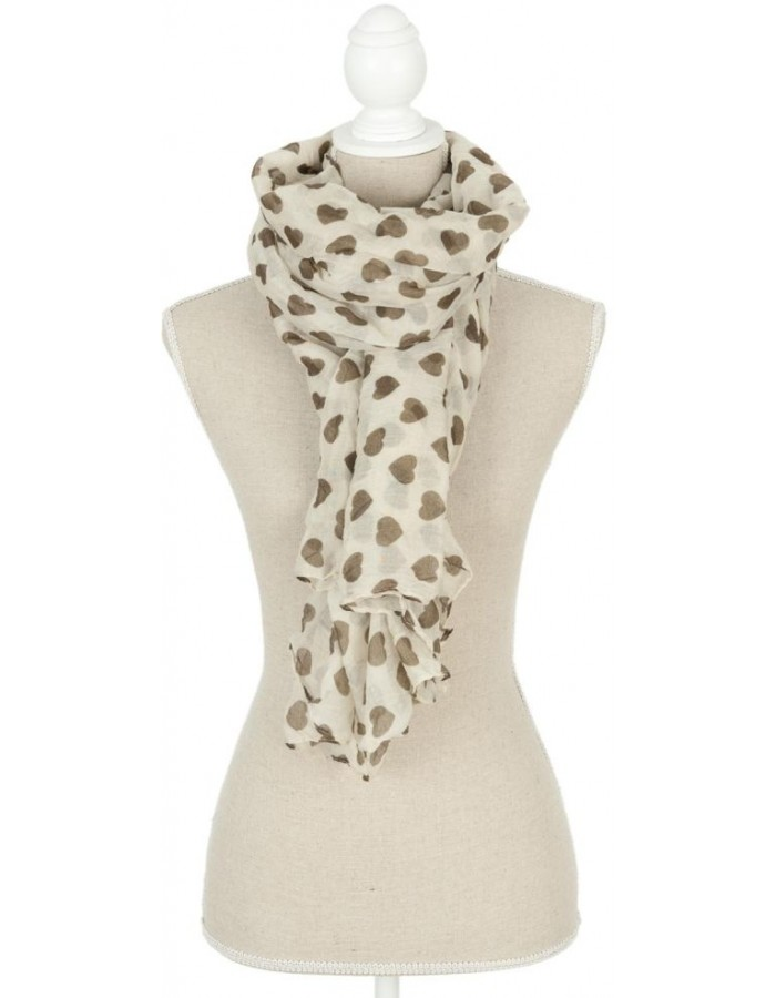 scarf SJ0536 Clayre Eef in the size 90x180 cm