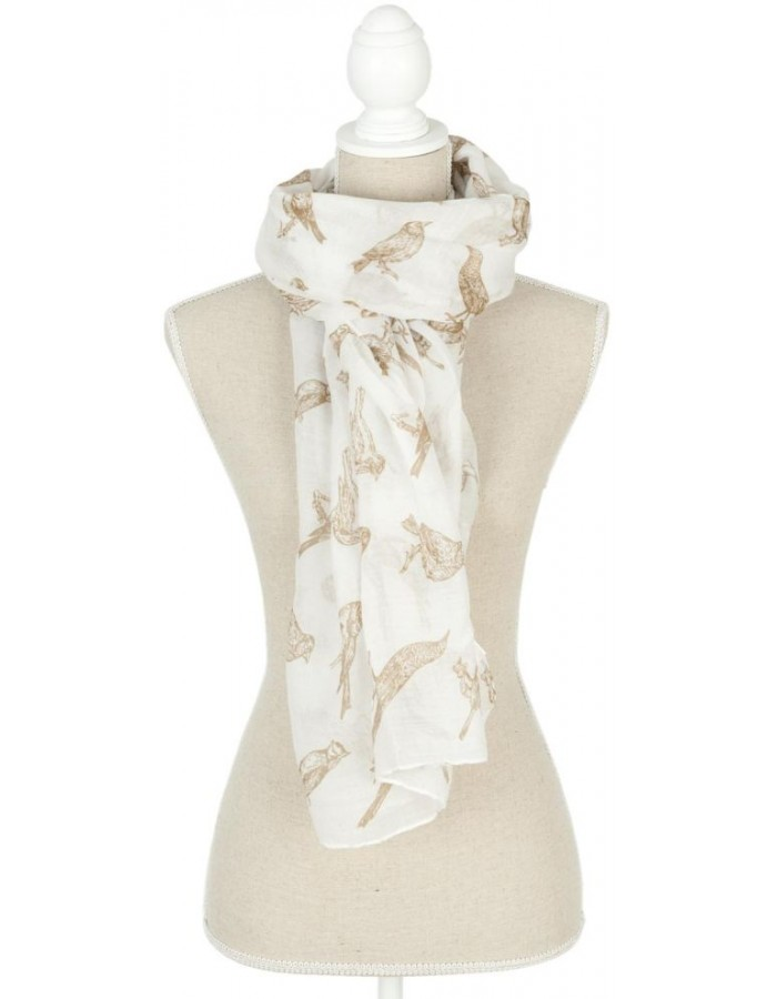 scarf SJ0541W Clayre Eef in the size 90x180 cm