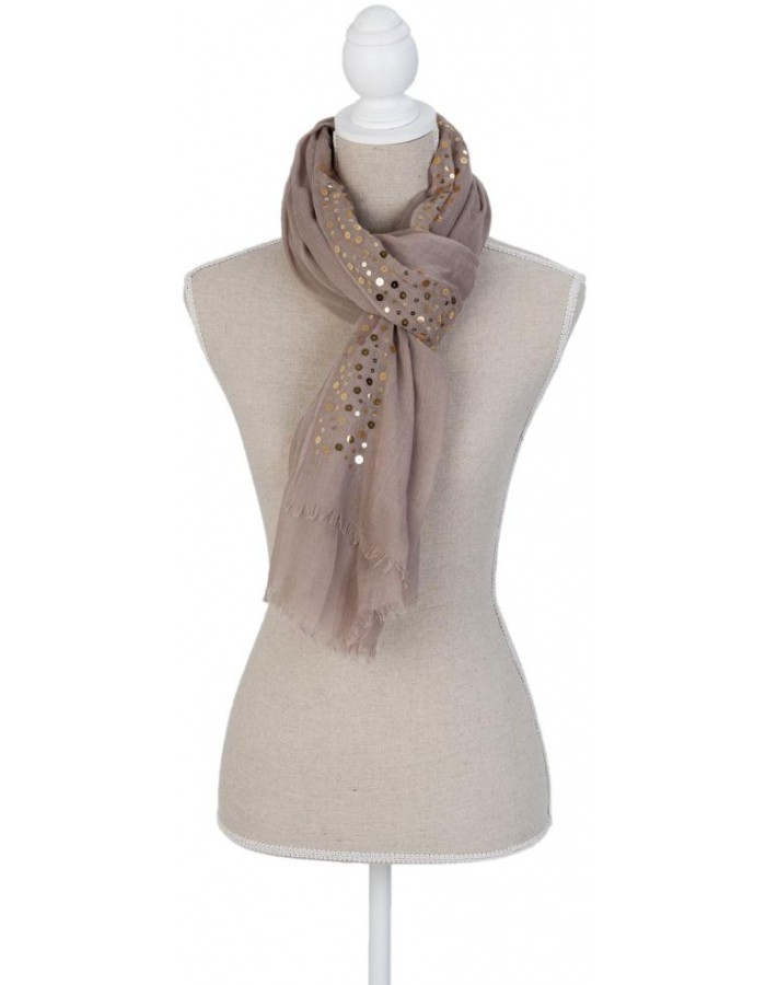 scarf SJ0598BGR Clayre Eef in the size 90x180 cm