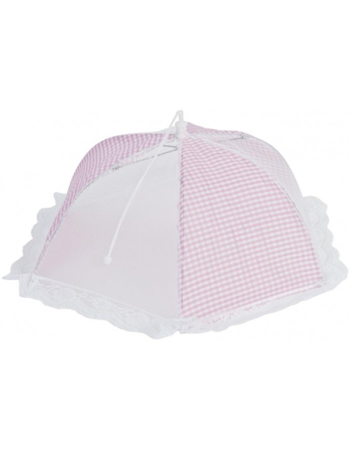 Cover pink checkered 46 cm