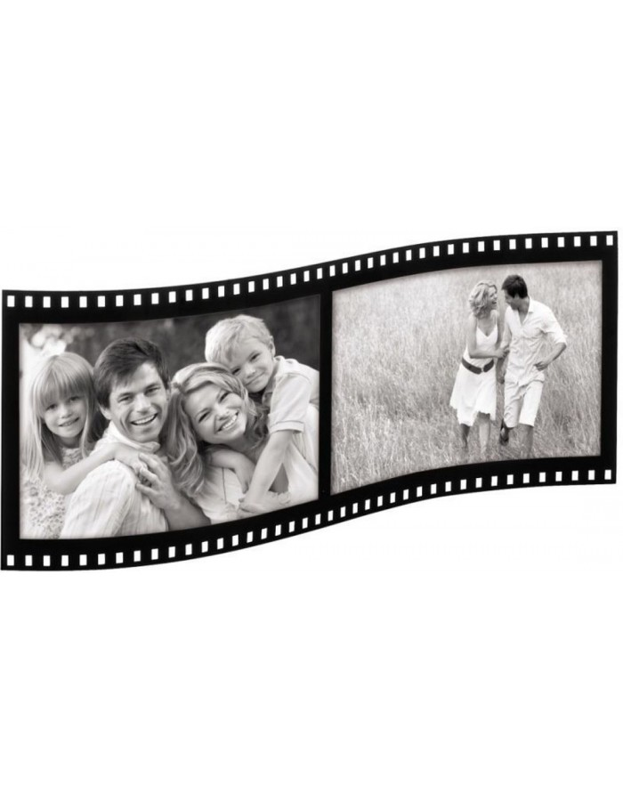 Hama Acrylic photo frame FILMSTRIP for 2 photos 10x15 cm | fotoalben ...