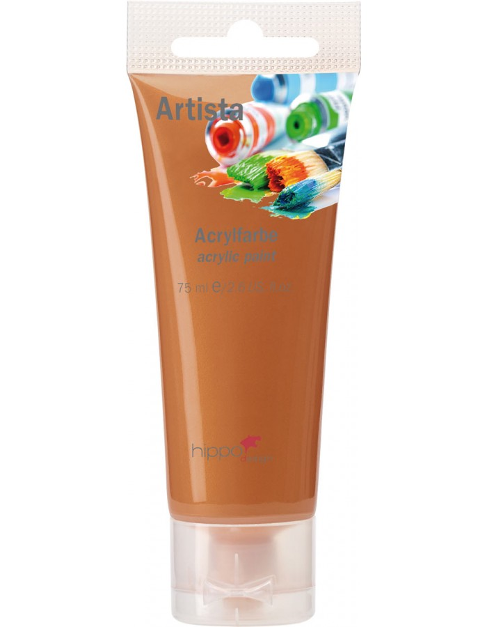 Acrylfarbe, bronze, 75 ml