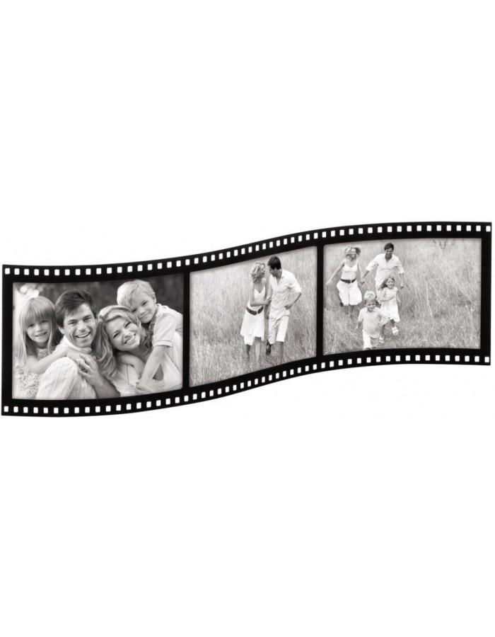 Hama Acrylic frame Filmstrip 3 photos 9x13 cm | fotoalben-discount.de