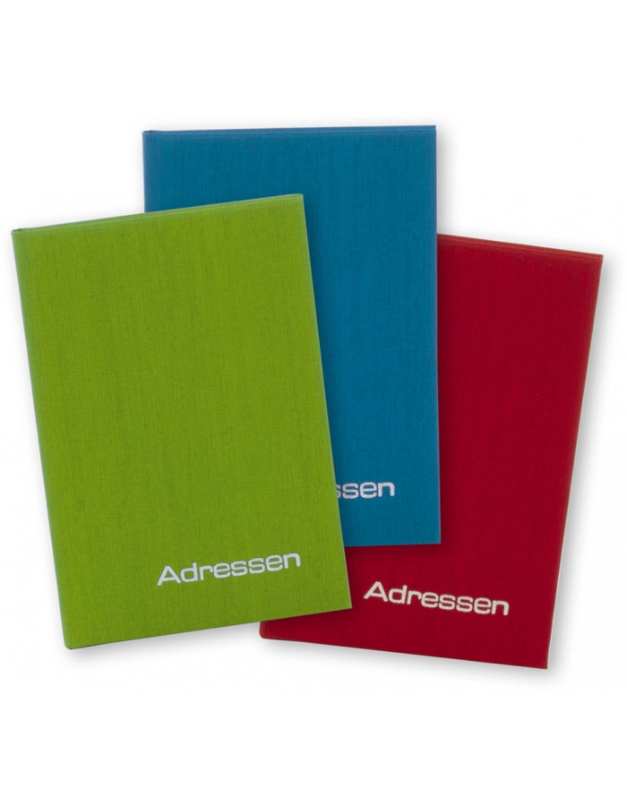 adress book COLOURS 1 piece