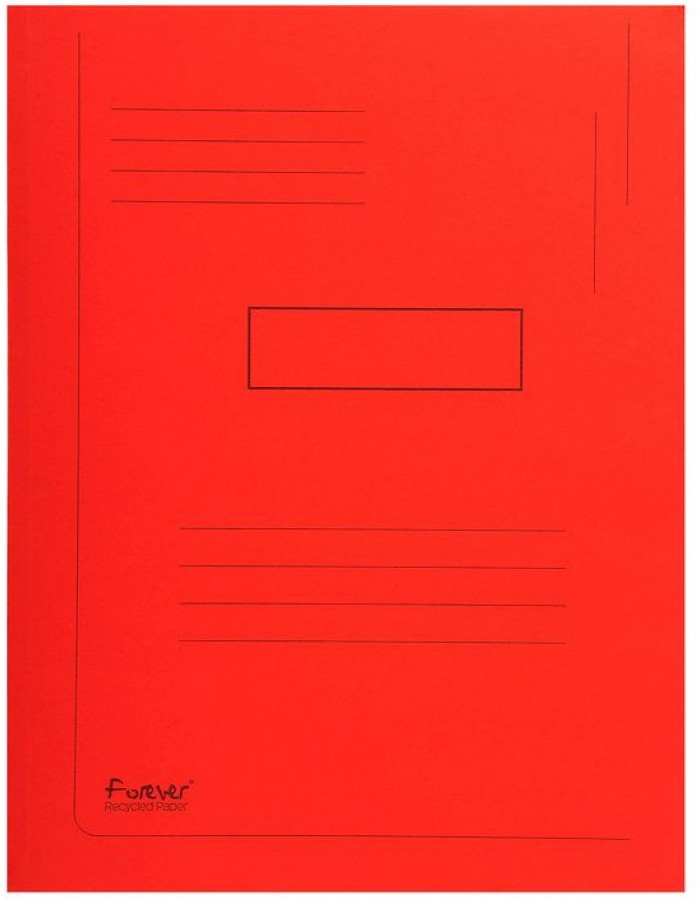 envelope folder FOREVER red