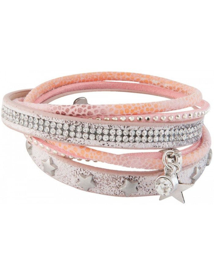 B0101928 Clayre Eef - Armband aus Leder - Kunstschmuck