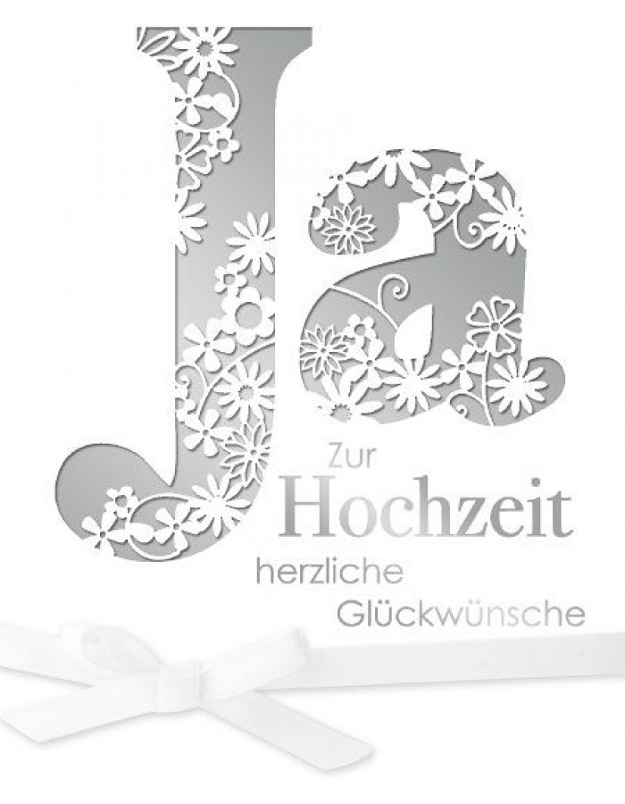 Artebene Karte Hochzeit Ja Laser ARTEBENE | fotoalben-discount.de