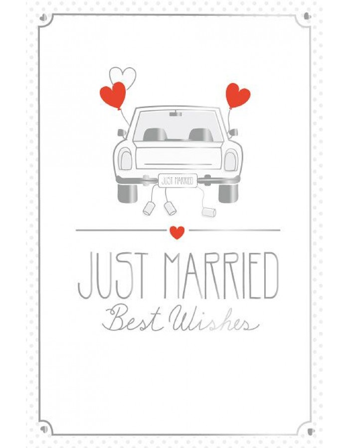 Artebene Karte Just Married  Auto