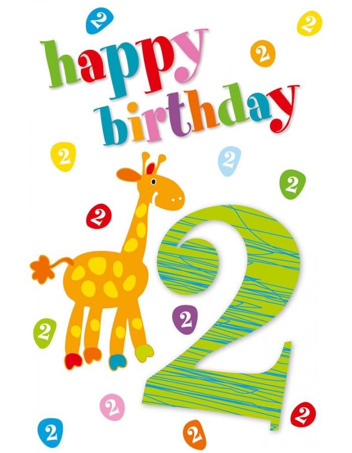 Artebene Karte Prage 2 Happy Birthday Kids ARTEBENE