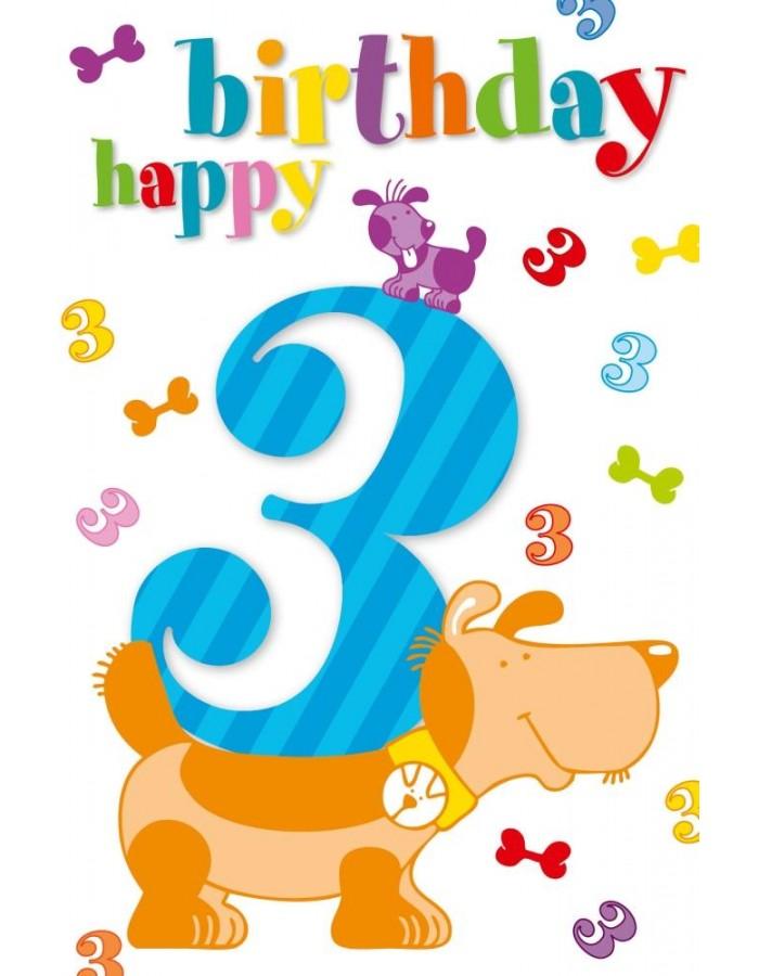 Artebene Karte Prage 3 Happy Birthday Kids ARTEBENE
