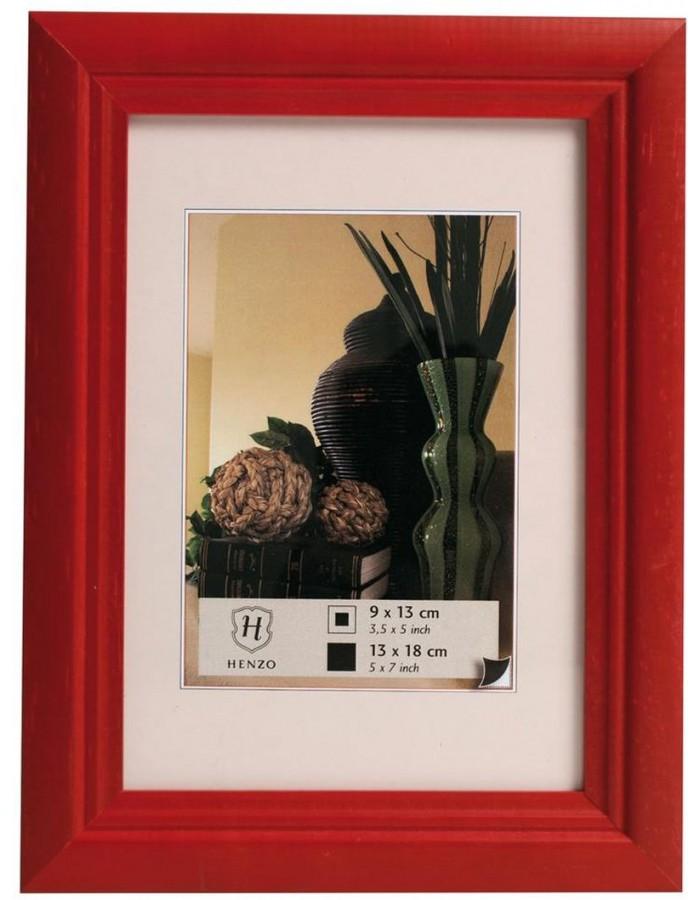 Bilderrahmen Holz - Artos Rahmen von Henzo in rot