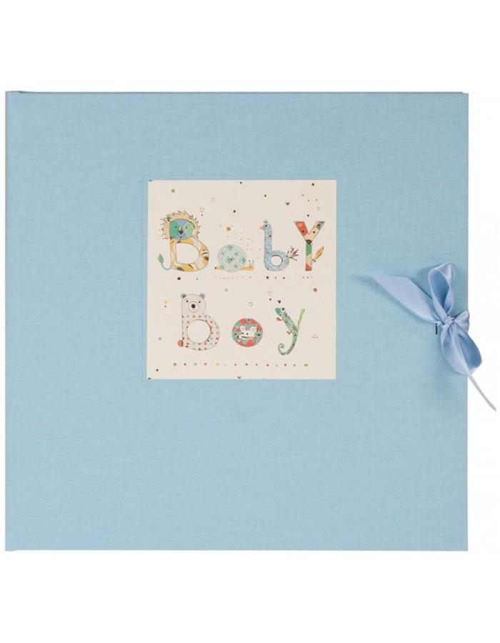 goldbuch baby boy fotoalbum 30x31 cm blau fotoalben. Black Bedroom Furniture Sets. Home Design Ideas