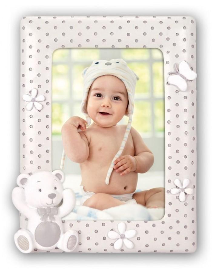 Babyrahmen Alvaro 10x15 cm Teddybär | fotoalben-discount.de