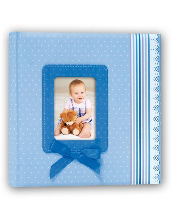 baby album RIBBON BLUE 31x31 cm
