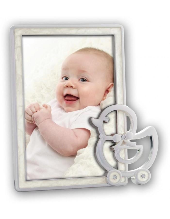 10x15 cm CHLOE baby Portraitrahmen mit Ente gestaltet