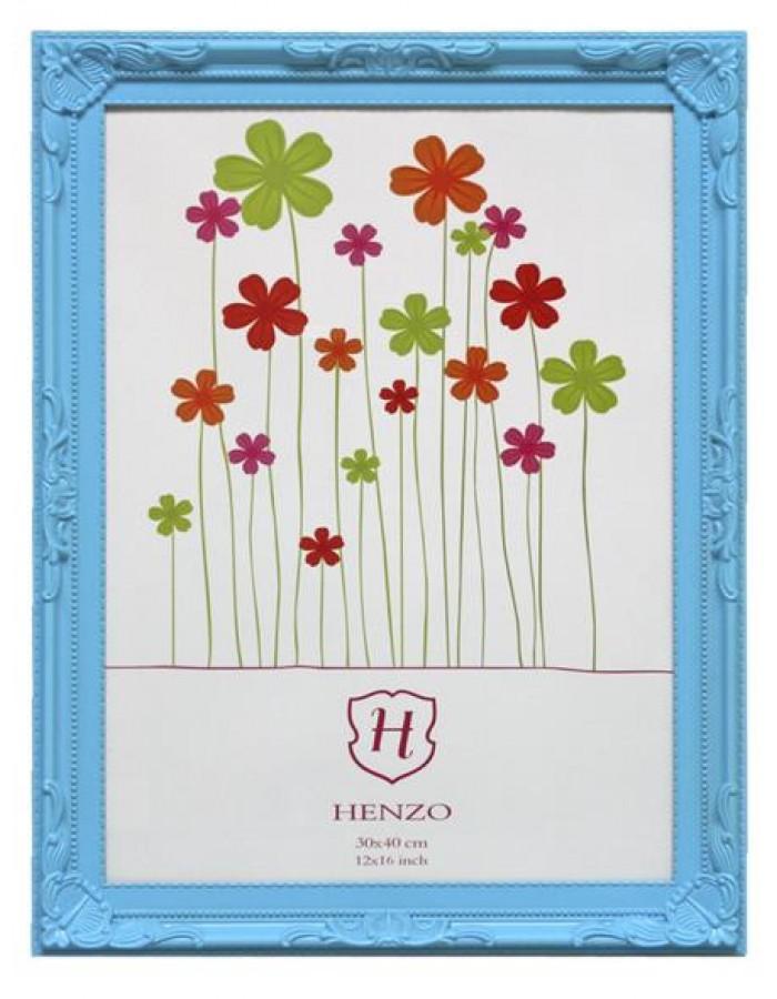 Henzo Barockrahmen Colour Barock 30x40 cm blau | fotoalben-discount.de