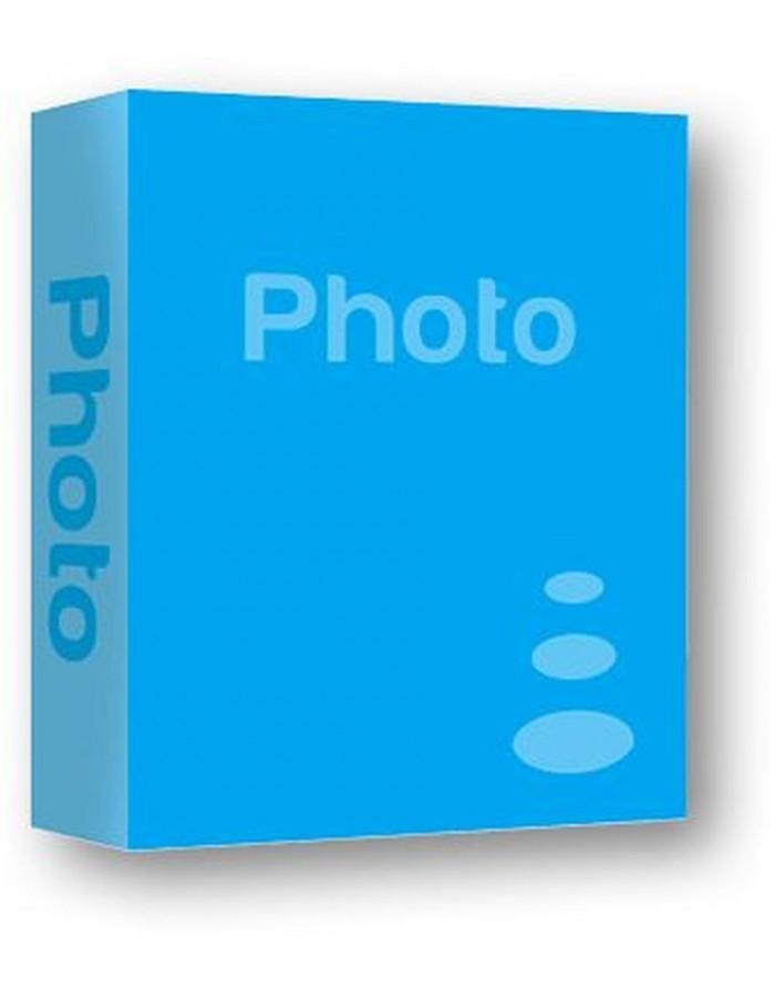 Einsteckalbum MONZA 200 Fotos 13x18 cm blau