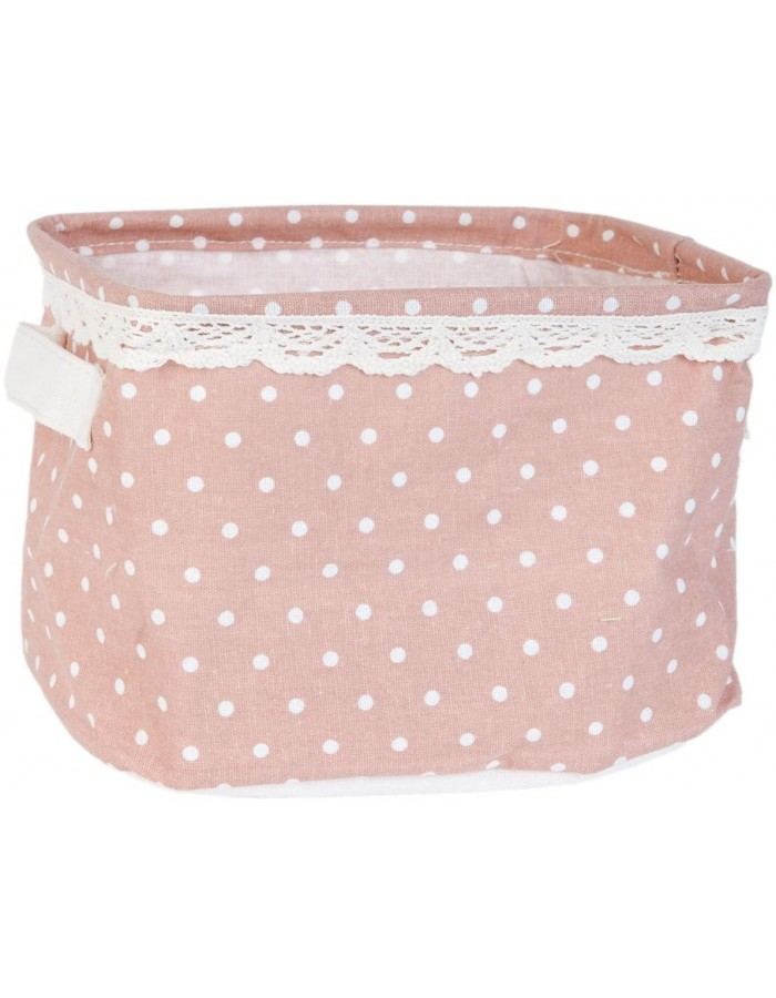 cotton-basket pink - FAP0130 Clayre Eef