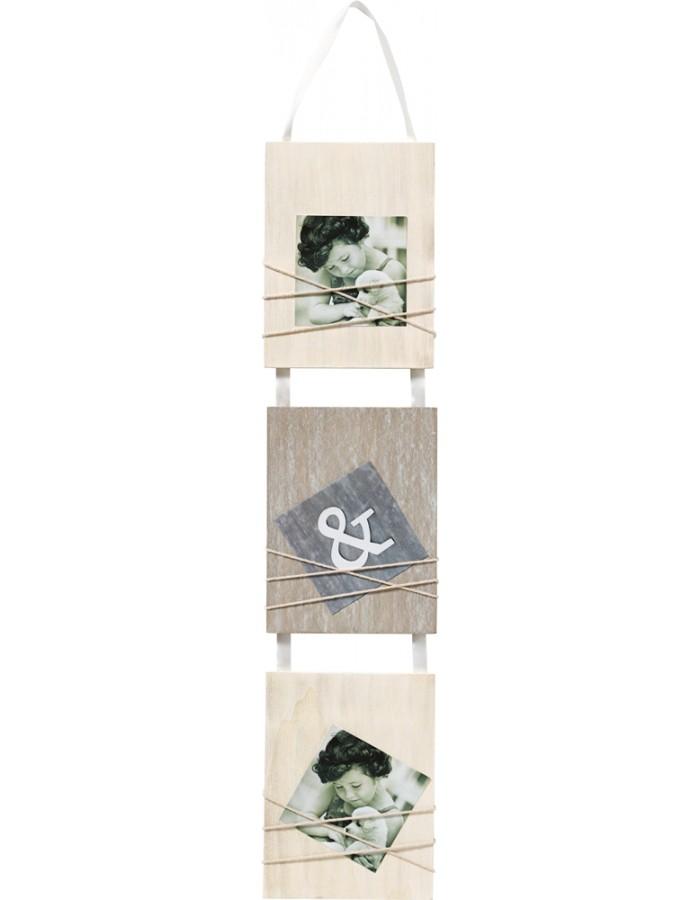 walther bella galerie fotorahmen f r 3 fotos fotoalben. Black Bedroom Furniture Sets. Home Design Ideas