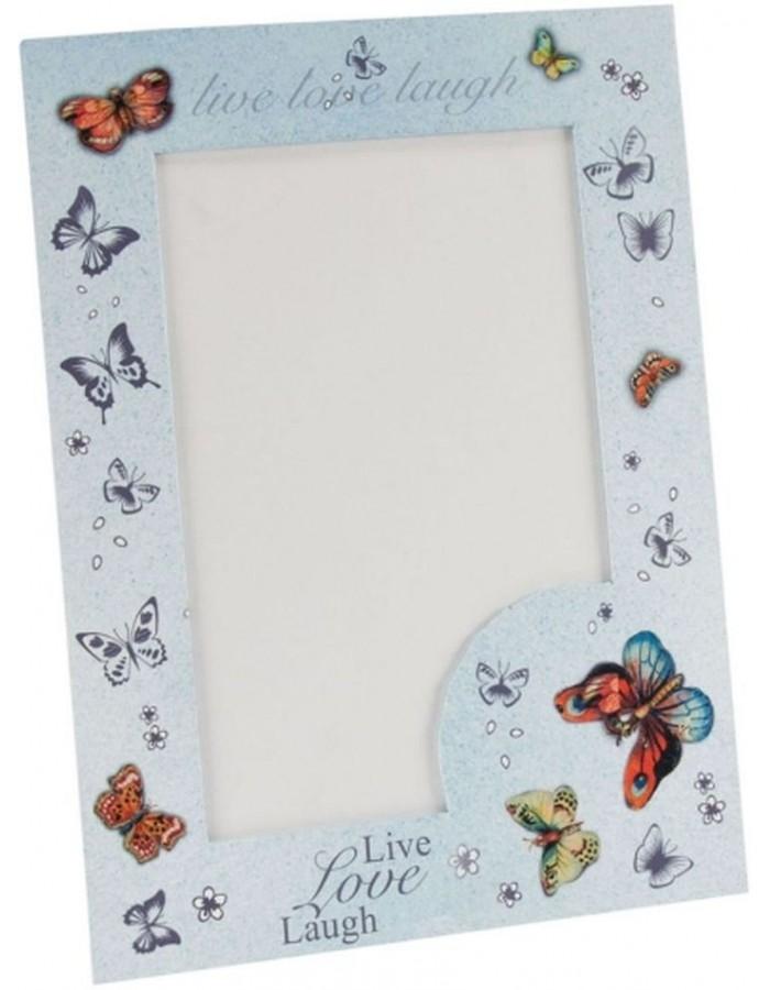 Book of Picture Frames Live Love Laugh 10x15 cm | fotoalben-discount.de