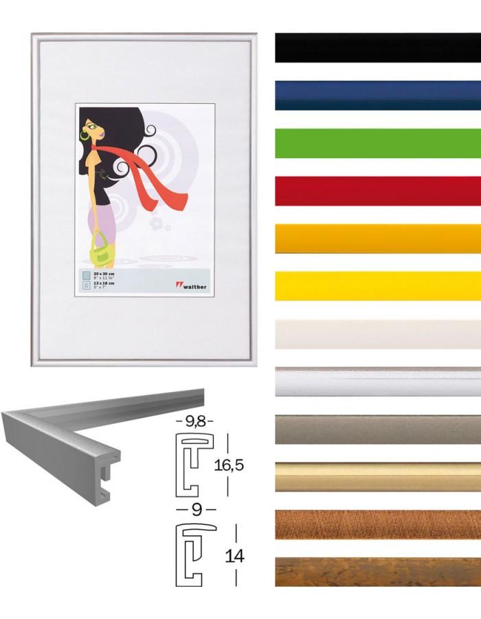 new lifestyle bilderrahmen walther fotoalben. Black Bedroom Furniture Sets. Home Design Ideas
