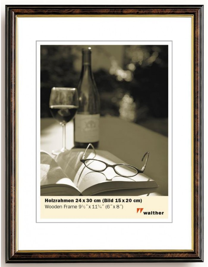 Bilderrahmen Oxford - Holzrahmen 18x24 cm Walther | fotoalben ...