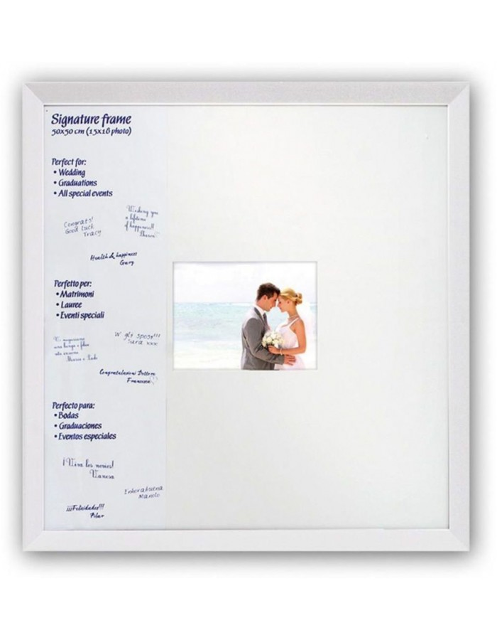 photo frame SIGNATURE WHITE 1 photo 15x18 cm
