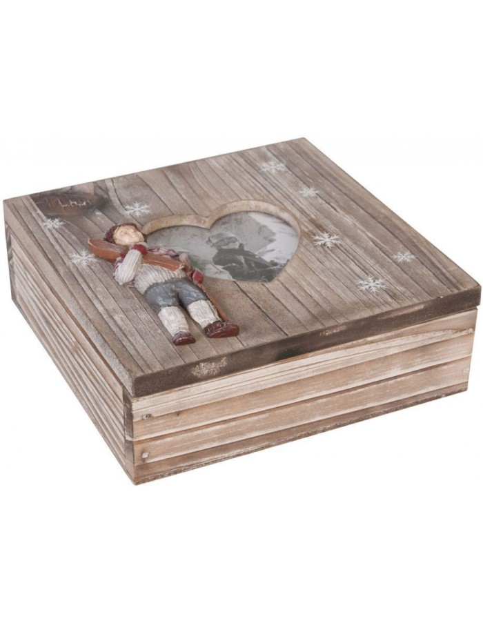 box made of wood - 6H0694 Clayre Eef