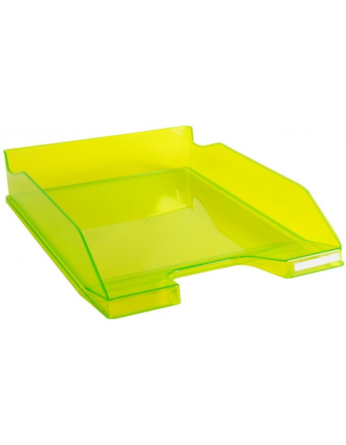 Briefablage Combo 2 Classic limonengrün transparent glossy