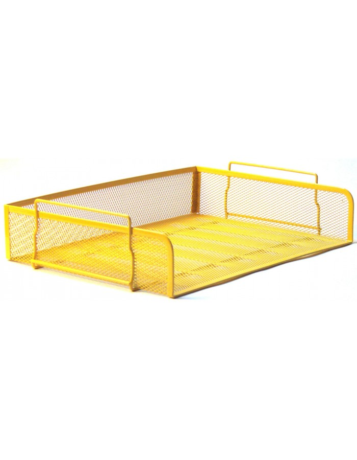 letter tray by officional yellow