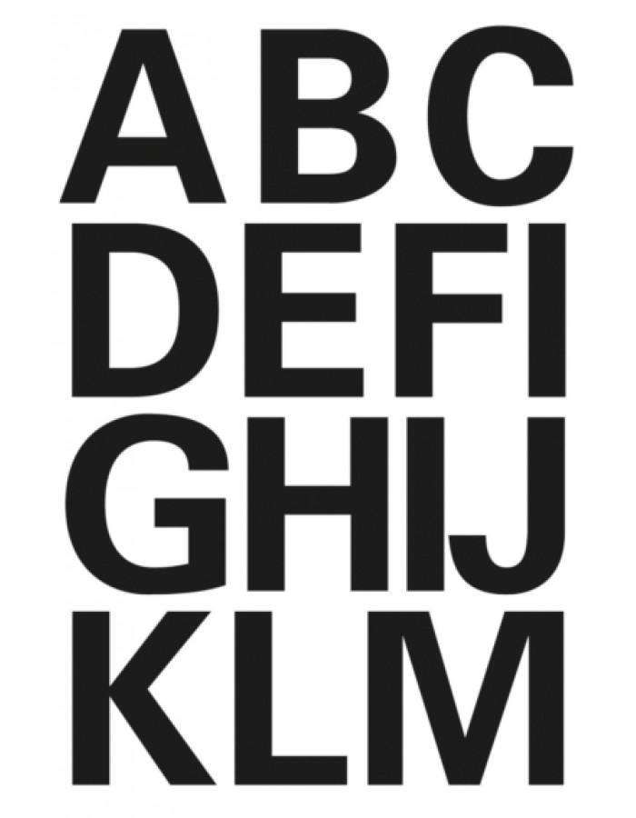 Buchstaben Zum Aufkleben Wetterfest : buchstaben 25 mm a z wetterfest folie schwarz 2 bl herma fotoalben ~ Orissabook.com Haus und Dekorationen